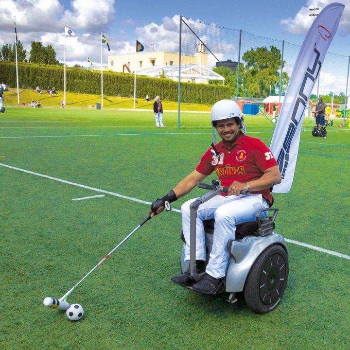 Practica deportes con Genny silla de ruedas electrica