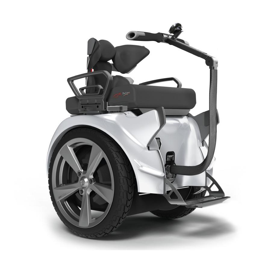 Silla de ruedas eléctrica Genny 2.0 Urban, vista lateral