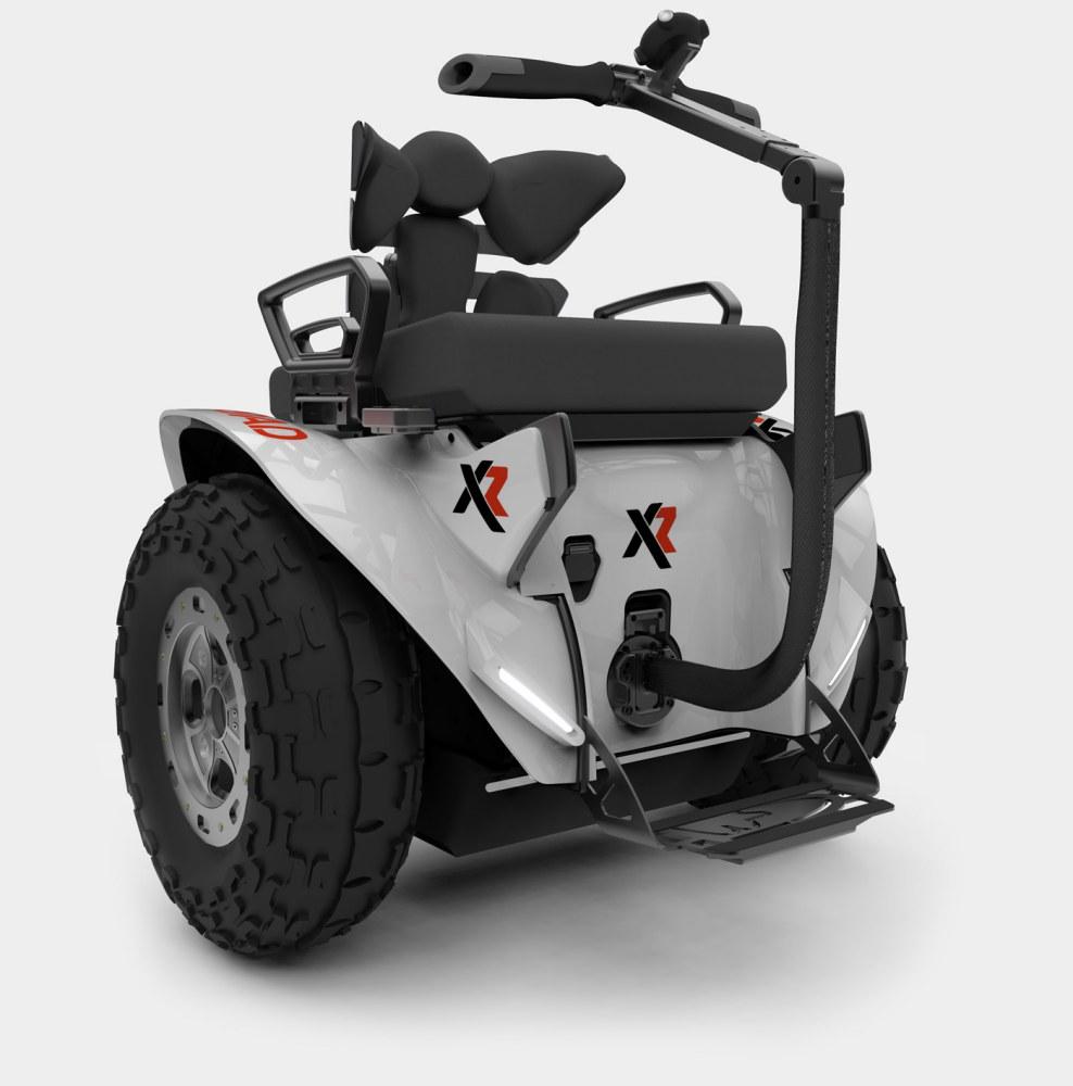 Silla de ruedas eléctrica Genny XRoad blanca