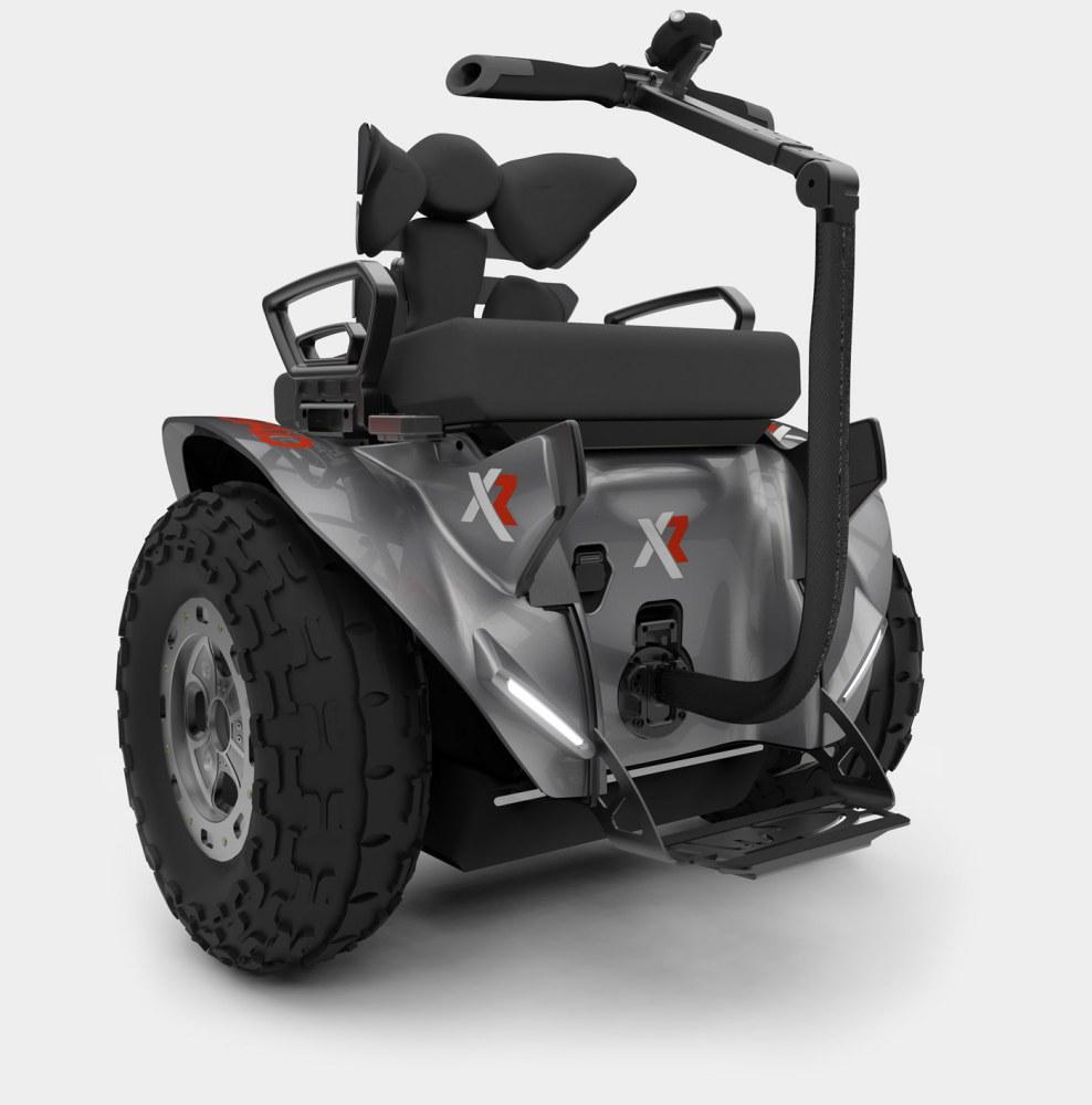Silla de ruedas eléctrica Genny XRoad gris