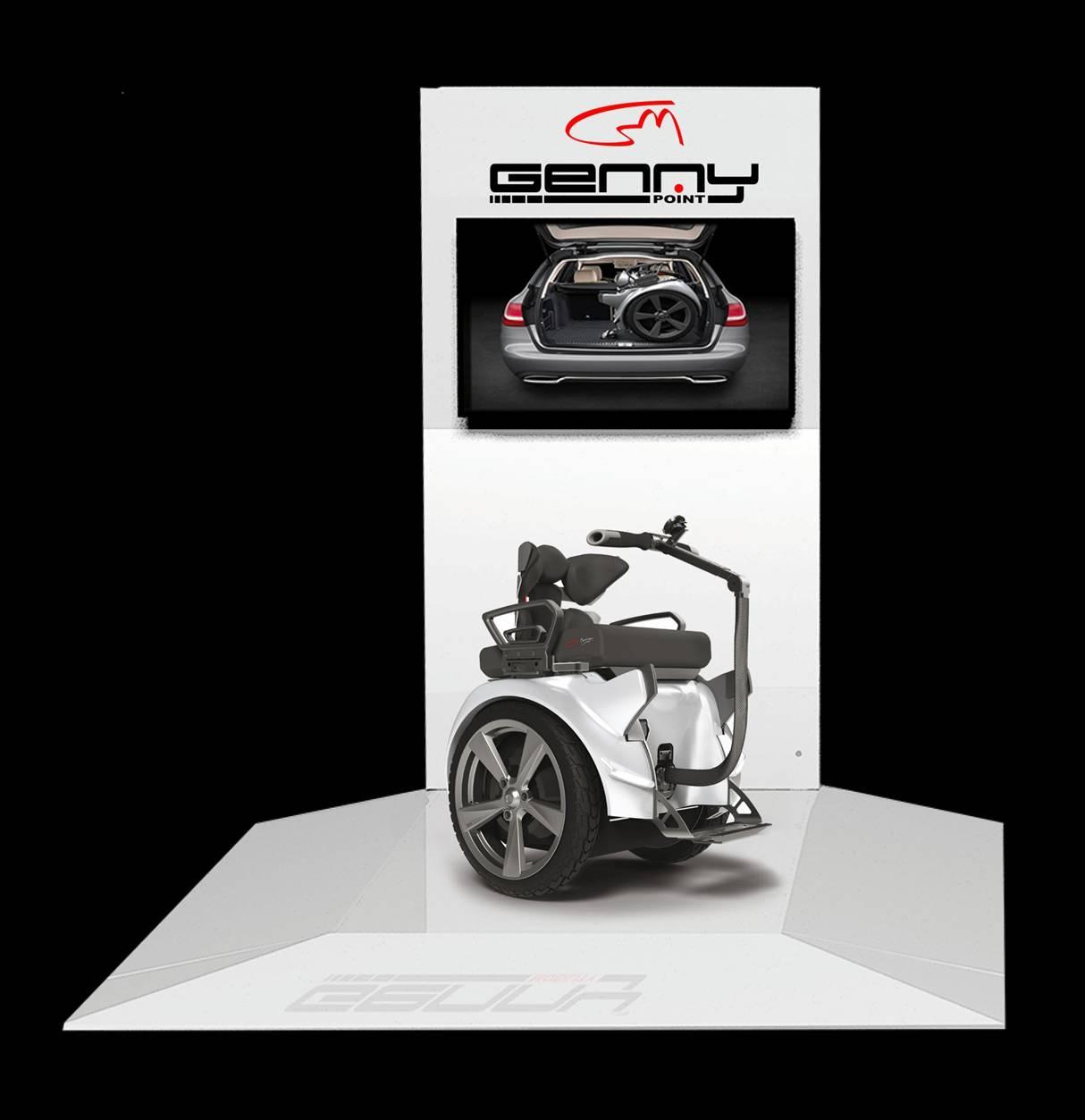 Genny Mobility inaugura en Madrid su primer espacio de referencia en España